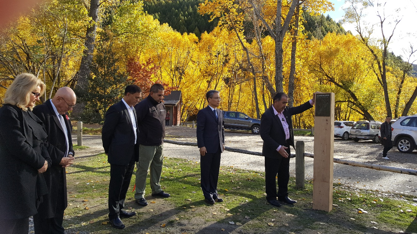 Arrowtown Chinese Settlement launch as NZ Landmark